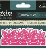 Die'sire Troquelado y estampado en relieve plantilla Diesire: Sueños de la mariposa