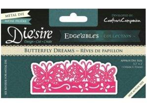 Die'sire Stansning og prægning skabelon Diesire: Butterfly Dreams