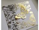 BASTELZUBEHÖR / CRAFT ACCESSORIES Película de transferencia, hoja de 10x10 cm, 30 hojas, oro