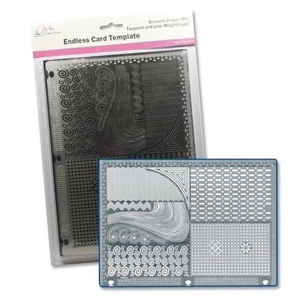 Schablonen und Zubehör für verschiedene Techniken / Templates Schablone: Ein tausend und eine Möglichkeiten