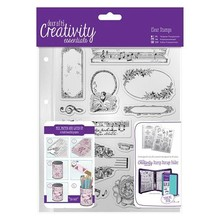 Docrafts / Papermania / Urban Transparent Stempel, Musicality