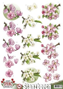 BILDER / PICTURES: Studio Light, Staf Wesenbeek, Willem Haenraets Die cut sheets with floral motifs