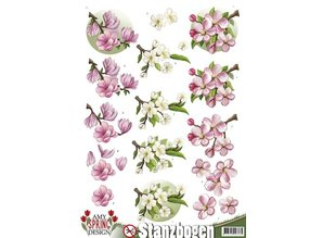BILDER / PICTURES: Studio Light, Staf Wesenbeek, Willem Haenraets Die cut sheets with floral motifs