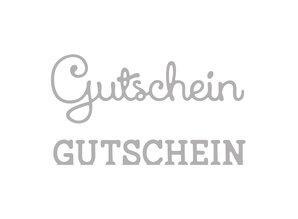 Spellbinders und Rayher Estampación kit de plantilla: bono de texto