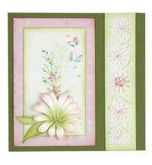 Leane Creatief - Lea'bilities Stanz- und Prägeschablone, Multi die flower 9 Chrysant