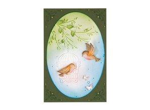 Leane Creatief - Lea'bilities Estampación y embutición de la plantilla, pájaro