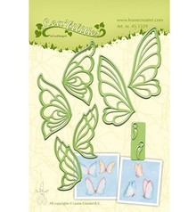 Leane Creatief - Lea'bilities Punching and embossing template, butterflies