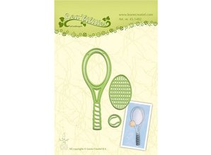 Leane Creatief - Lea'bilities Stamping and Embossing stencil, Tennis