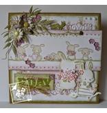 Joy!Crafts und JM Creation Skæring og prægning stencils, 2 Spring Bunny