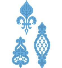 Marianne Design Taglio e goffratura stencil, ornamenti d'epoca di Anja 3