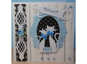 Marianne Design Cutting and embossing stencils, Anja's vintage ornaments 3