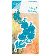 Joy!Crafts und JM Creation Skæring og prægning stencils, blomst bundt