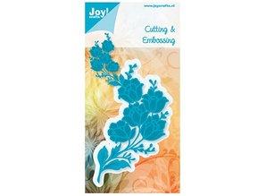 Joy!Crafts und JM Creation Cutting and embossing stencils, flower bunch
