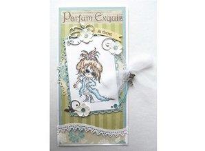 Marianne Design Bastelset with stamp motif: Diva