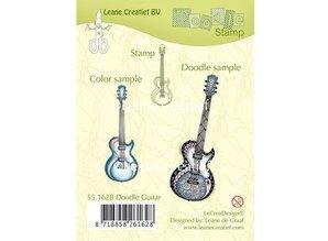 Stempel / Stamp: Transparent Gennemsigtige frimærker, guitar