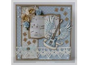 Stempel / Stamp: Transparent Transparent stamps, guitar