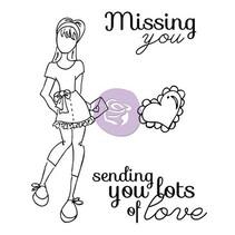 Stempels set, Doll Stamp Kit Veel Liefde
