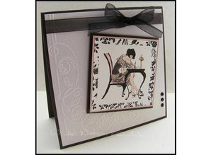 Crafter's Companion A6 Frou Frou Unmounted rubber stamp Set - Love Letters
