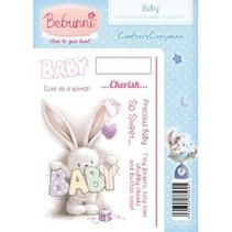 A6 Enhed, Rubber Stamp Set - Baby