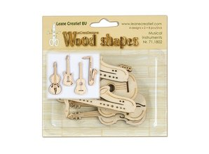 Objekten zum Dekorieren / objects for decorating Instrumentos Musicales de madera