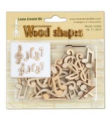 Objekten zum Dekorieren / objects for decorating Del musik fra træ, 40