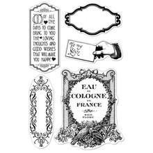 Stempel / Stamp: Transparent I timbri trasparenti, farti felice