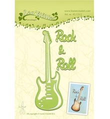 Leane Creatief - Lea'bilities Cutting and embossing stencils, guitar