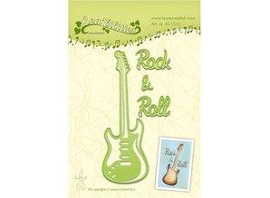 Leane Creatief - Lea'bilities Cutting and embossing stencils, guitar
