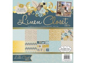 DCWV und Sugar Plum Designer Block, The Linen Closet Paper Pad