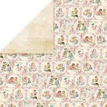 Designer Bow, 30,5 x 30,5 cm, Nyfødte Født 3