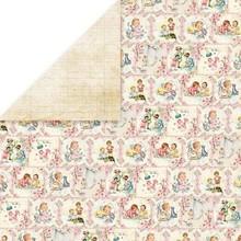 Designer Papier Scrapbooking: 30,5 x 30,5 cm Papier Designerbogen, 30,5 x 30,5cm, New Baby Born 3