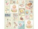 Designer Papier Scrapbooking: 30,5 x 30,5 cm Papier Diseñador Bow, 30,5 x 30,5 cm, bebé recién nacido 7