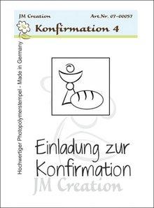 Stempel / Stamp: Transparent Transparent stamps, Confirmation Invitation Chalice