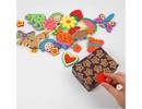 Kinder Bastelsets / Kids Craft Kits Foam stamp different with fun designs, 20