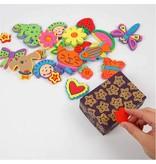 Kinder Bastelsets / Kids Craft Kits Skum tempel anderledes med sjove mønstre, 20,