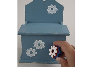 Kinder Bastelsets / Kids Craft Kits Foam temple different with fun designs, 20