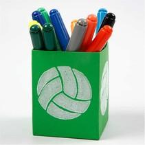 Stempel van schuimrubber: Sport, een totaal van 12 ontwerpen