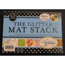 DCWV Designersblock, The Glitter Mat Stack