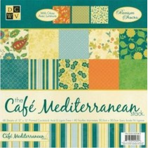 DCWV Designer Block, Café Mediterranean Matstack