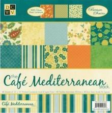 DCWV und Sugar Plum DCWV Designersblock, Café Mediterraneo Matstack