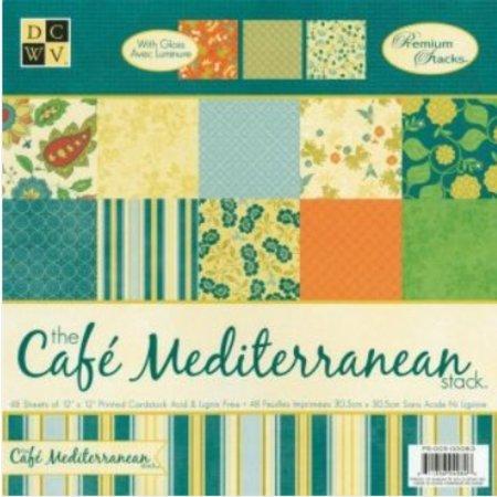 DCWV und Sugar Plum DCWV Designersblock, Cafetería mediterránea Matstack