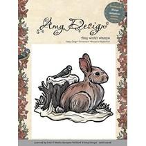 Diseño de Amy, sello de goma