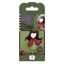 Gorjuss / Santoro NEW: Mini rubber stamp No.14 Little Red