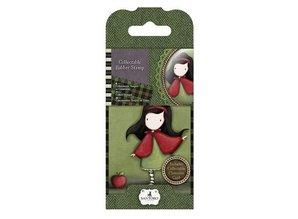 Gorjuss / Santoro NEW: Mini rubber stamp No.14 Little Red