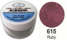 Taylored Expressions Seta MicroFine Glitter, a robin