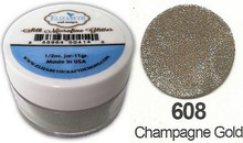 Taylored Expressions Silk MicroFine Glitter, i Champagne Gold