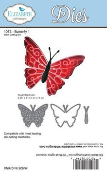 Taylored Expressions Cutting and embossing stencils: butterfly