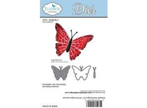 Taylored Expressions Skæring og prægning stencils: sommerfugl