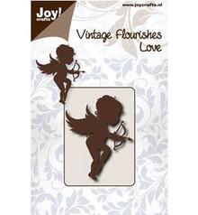 Joy!Crafts und JM Creation Stempling og prægning stencil, engel