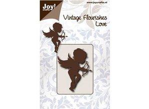 Joy!Crafts und JM Creation Stamping and embossing stencil, angel